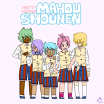 Mahou Shounen School Uniforms by MWRuuRuu