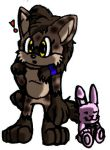 Cocoa The Spotted Hyena-official pic- by RoninHunt0987
