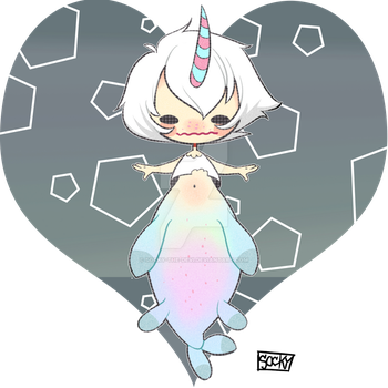 Merman chibi [Hatched] By: defigure by Socky-the-Devi