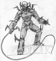 Yuuzhan Vong Sketch by DevantSin