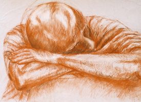 Sleeping young man by hippiedesigner