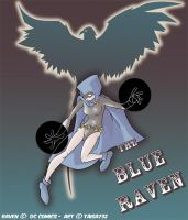 TEEN TITANS: The blue raven by Taisa732