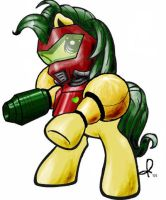 Samus Pony Design by techneurology