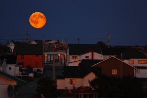 Moon Rise at Sun Set by Witch-Dr-Tim