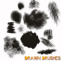Hand Drawn Texture Brushes by propensity