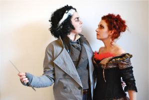 First Try out fore Sweeney Todd and Mrs Lovett by CaptJackSparrow123