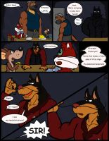 Comic commission: Chow Hound The Untold Story 6 by CaseyLJones