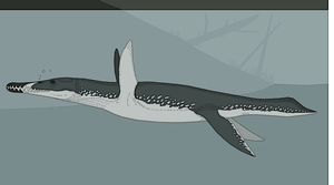 Riverine Pliosaur by Kazanlak10