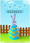 Greeting Card: Happy Easter by princepal