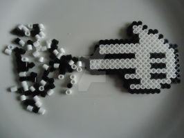 A Shot of Perler by VividButterflyAngel