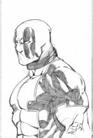 Deadpool sketch by bobbett