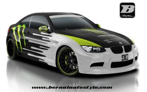 Monster Energy BMW M3 by BernalAutoStyle