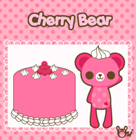 Cherry Bear by sugarlette