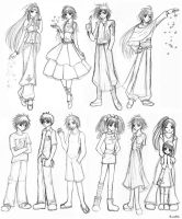 Wow...So Many Characters by EloraLyda