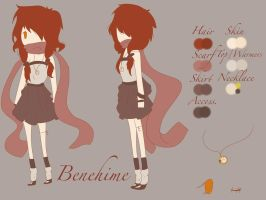 .: Benehime Reference Sheet :. by LittleMissZKits