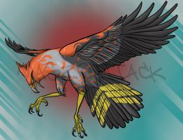 Realistic Talonflame by Maszeattack