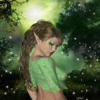 Forest Fae by Nightbyrd