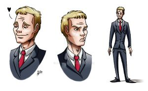 Mr. Stinson in 47 suit by H-GALLERY