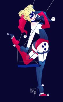 Harley Quinn Commission by Whimsette