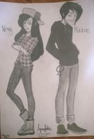Wendy and Robbie by tromaxer