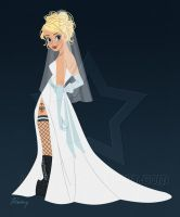 Blushing Bride Commission by S-Harkey
