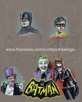 wip BATMAN AND ROBIN (1966) by scotty309