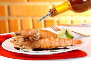 King Shrimp with Balsamic by Markhal