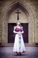 Cosplay: Princess of Hyrule by Angels-Leaf