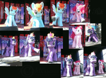 My Little Ponies At The Calgary Stampede by OkamiiAoi