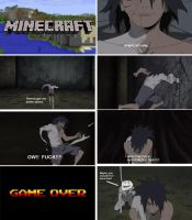 Obito plays Minecraft by TrueBladEdge