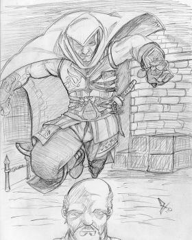 Assassin's Creed - Ezio Strike by dx2