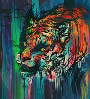 Tiger by ClumsyKee
