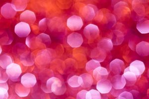 Pink and Orange Bokeh by Lady-Ro