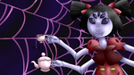 Muffet Desktop Background (Undertale) by DeviantDalton