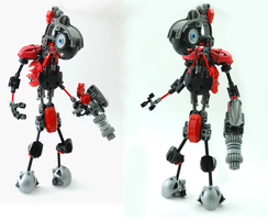 bionicle MOC - Mercenary by mr-shazam