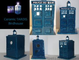 Epic TARDIS Birdhouse Of Awesome by Letta463