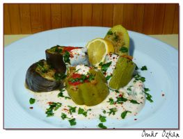 Dolma - stuffed vegetables by apsuvaman