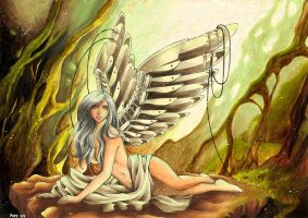 Metalic Angel by nasy