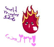 FLAMES PET NAMED ABY by WorldTraveler128