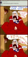 Ask Inuyasha: What are you doing Koga? by unknownpicture