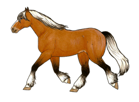 (transparent) Epona by MommaCabbit