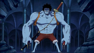 Luffy hulk by YANUTO10