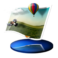 My Pictures dock icon by Ornorm