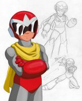 Cartoon Protoman by GuaySlayer