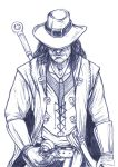 Daily Sketches Solomon Kane by fedde