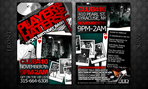 Player Haters Ball Invitation by witnessGFX