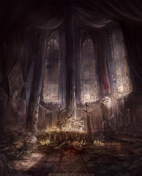 Destroyed Ritual Room by jbrown67