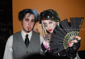 sweeny todd and tankgirl by Countess-Grotesque
