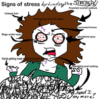 Signs of stress by TakuniChan