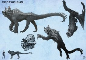 Centurious Creature concept by LyntonLevengood